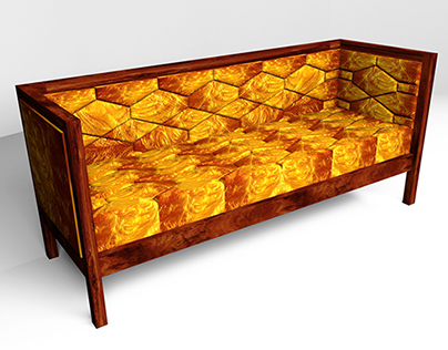 Sofa. Honeycomb