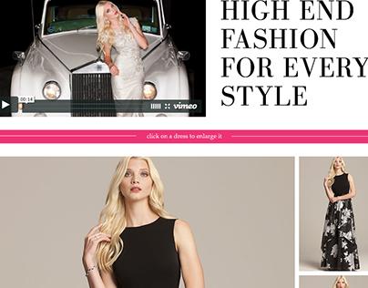 Landing Page Design with Video: Teri Jon