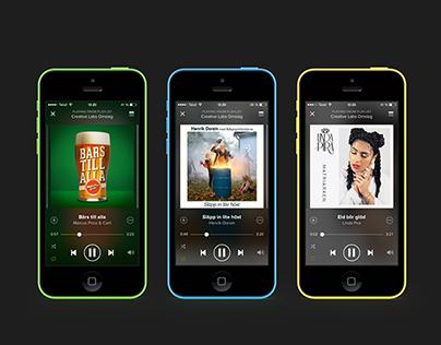 Various digital album covers