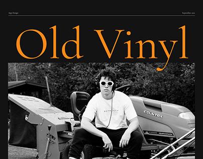 Old Vinyl | App Design