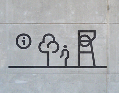 Silesian Museum - pictograms
