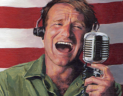 Robin Williams Portrait, Asbury Park Press