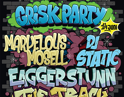 Posters - Grisk Party