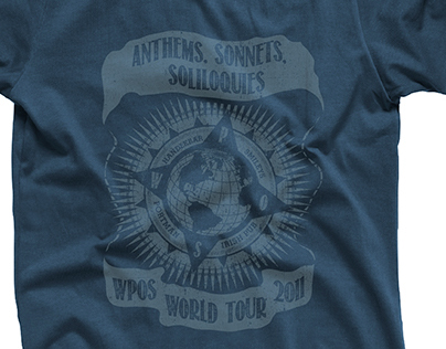 Faded WPOS T-Shirt Design