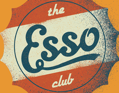 The Esso Club T-shirt Concepts (Clemson SC)
