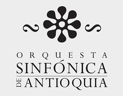 Afiches Orquesta Sinfónica de Antioquia