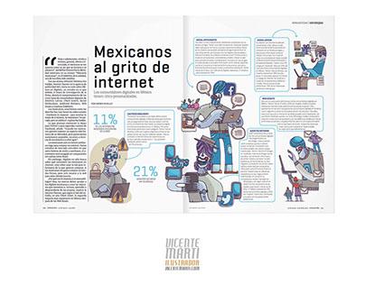 Mexicanos en Internet / Expansión / Vicente Marti Solar
