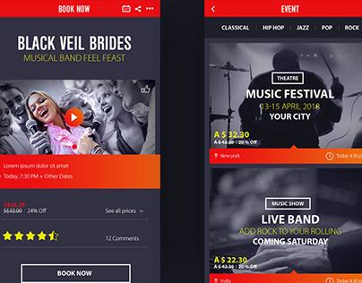 FireBrand Mobile App Design
