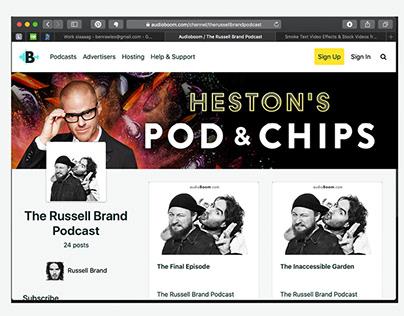 Heston's Pod & Chips - Design