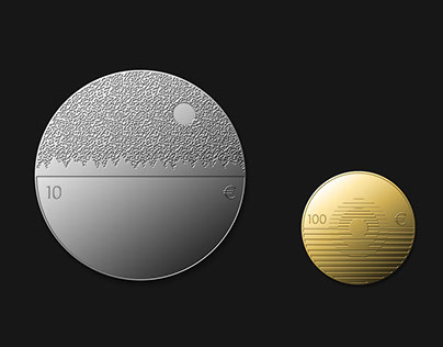 100th anniversary coins of the Republic of Estonia