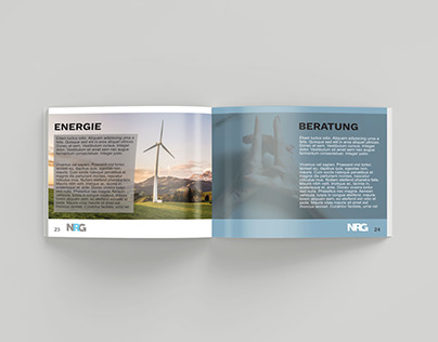 Brochure for Energy Consultment Company