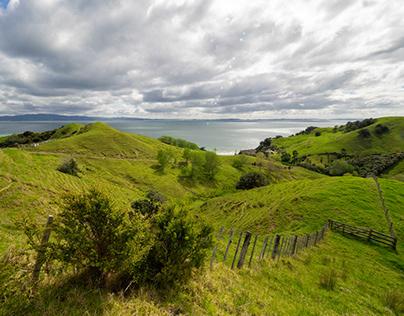 Landscapes of New-Zealand: part 1