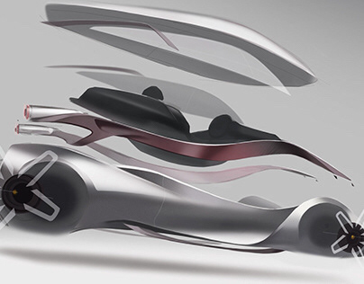 2040 Ferrari 'Mutua' concept