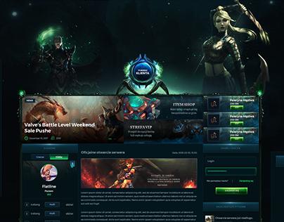 Metin2 - RPG Webdesign