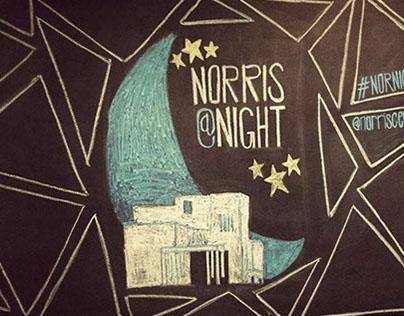 Norris @ Night Chalkboard