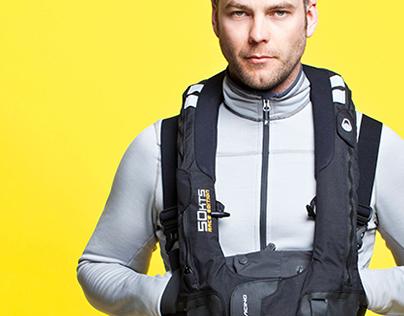 Sail Racing - 50KTS Life vest & SR-40 Floater vest