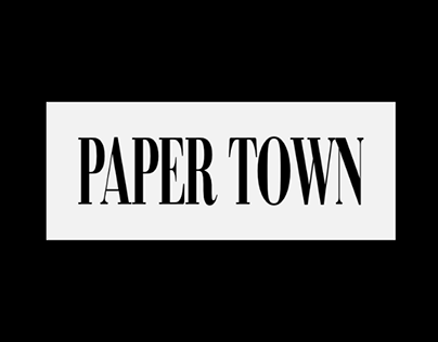 Papertown | Magazine web design & development