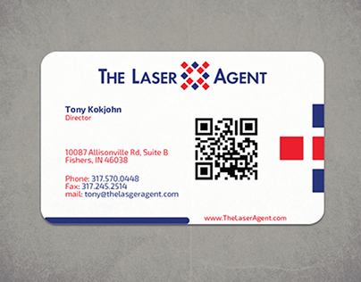 The Laser Agent Business Card
