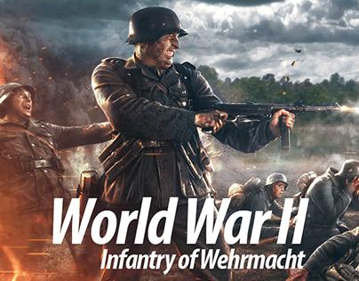 World War II Infantry of Wehrmacht