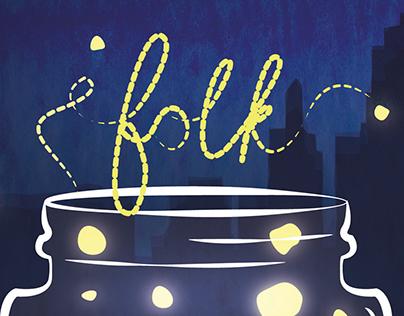 Folk Alliance Music Fair Collateral