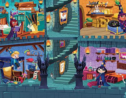 ChickaDEE Puzzle: Wizards