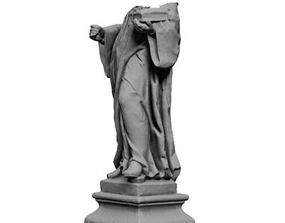 3D Documentation of destroyed sculpture