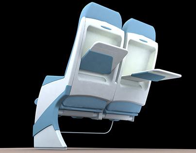 EMBRAER ERJ-145_ESDI AIRPLANE SEATS