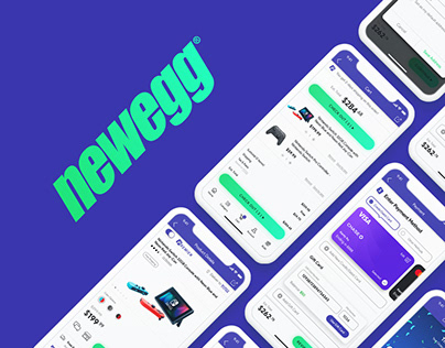 Newegg App Redesign