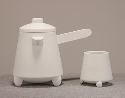 Tri tea set