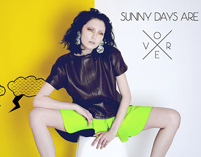 Summer Days Are Over MEOW Magazine October 2014