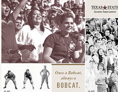 Texas State University Alumni Rebrand