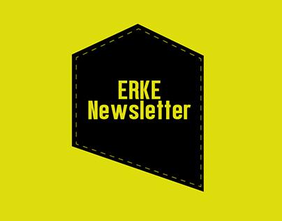 ERKE Newsletter Design