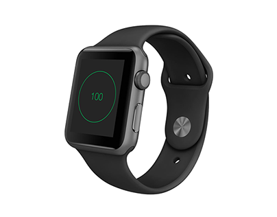 Reaction Timer for Apple Watch Concept