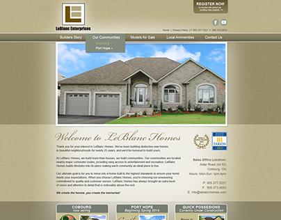 LeBlanc Enterprises Website and Brochures