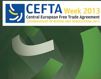 CEFTA Week 2013 (book cover illustration design)
