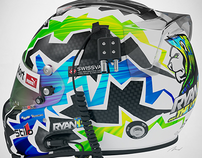'The Lion' Custom Helmet Design