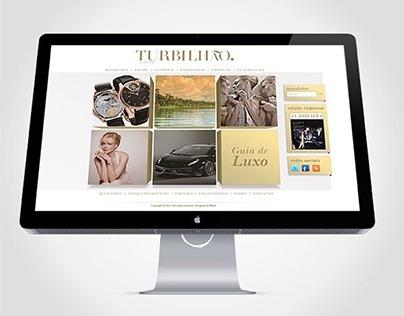 Turbilhão magazine website