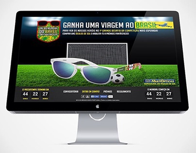 Worldcup 2014 contest for MultiOpticas