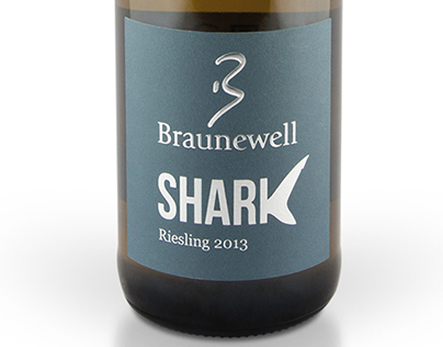 Label Wine 'Shark'