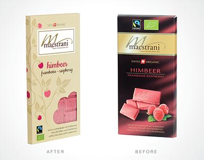 Maestrani chocolate redesign