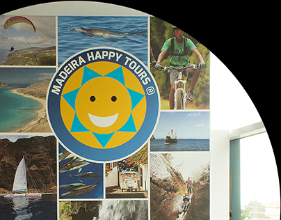Storefront design - Madeira Happy Tours 2014