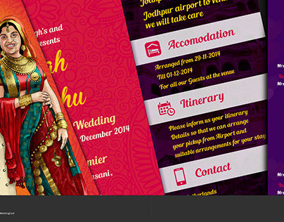 Jaipur Traditional Wedding Cards