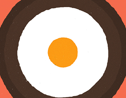 Egg from above