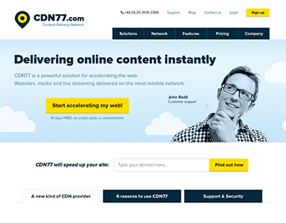 CDN77 - content delivery network