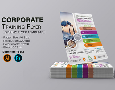 Corporate Training and Workshop Flyer Template Design
