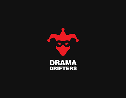 Drama Drifters logo concept