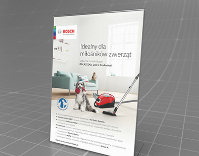 "Bosch - POS ""Zoo pro Animal"" promo poster design"