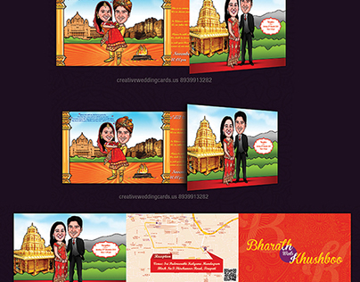 Jodhpur Maharaja Wedding Cards