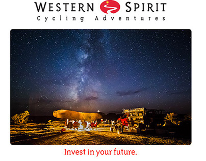 Western Spirit Cycling Email Campaigns