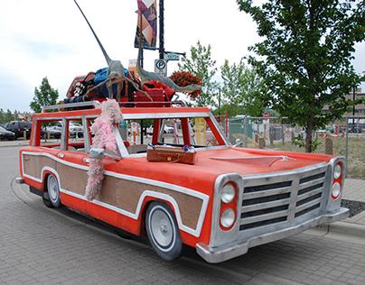 Calgary Stampede Parade Float